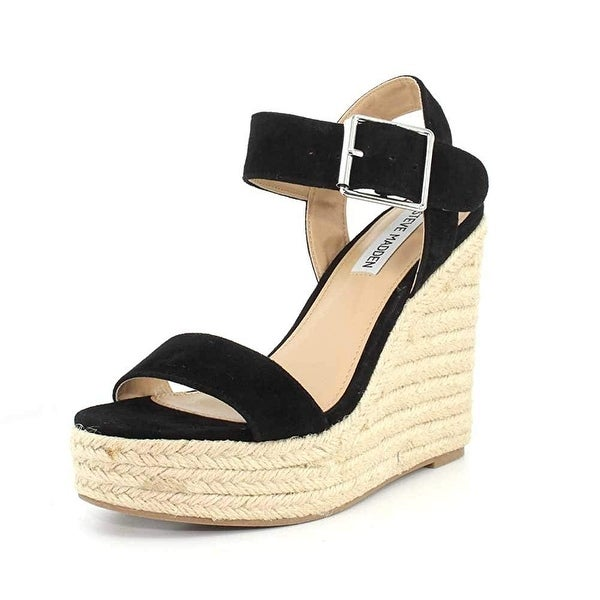 ffa1ce39ac5 Shop Steve Madden Womens Santorini Open Toe Casual Platform Sandals ...