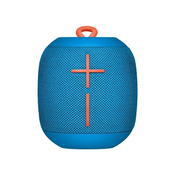 Logitech - Logitech Ultimate Ears Ue Wonderboom-Subzero Blue