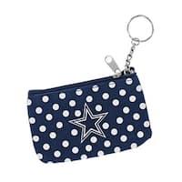 Dallas Cowboys NFL Coin Purse ID Keychain