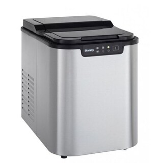 Danby DIM2500 12 Inch Wide 2 Pound Capacity Portable Ice Maker with 25 Lb. Daily