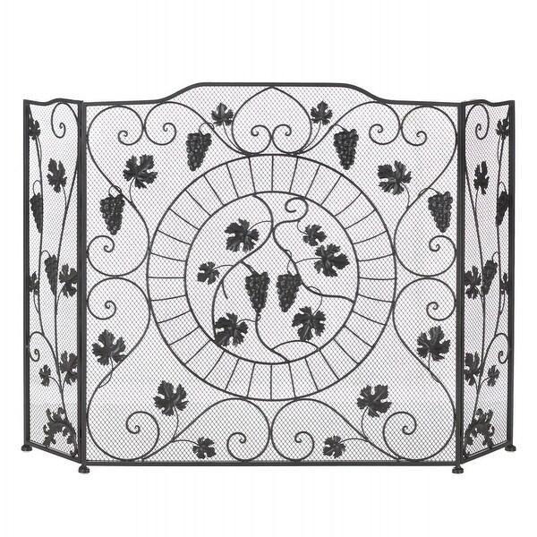 Vineyard Fireplace Screen