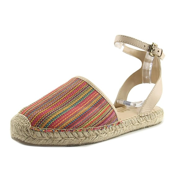 Sam Edelman Vivian Women Open Toe Canvas Multi Color Sandals