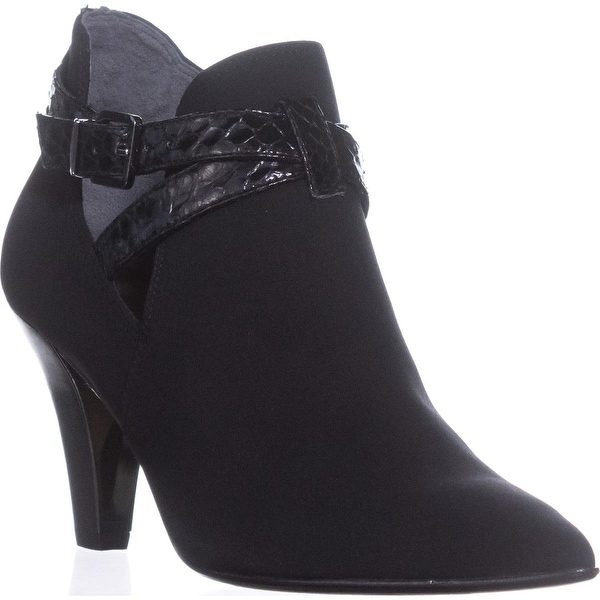 Donald J Pliner Tamy Pointed-Toe Ankle Booties, Black