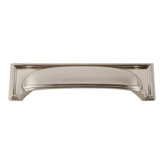 Atlas Homewares 383 Campaign Rope 3-3/4 Inch Center to Center Cup Cabinet Pull
