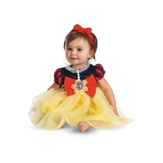 Disguise Disney Princess Snow White Infant Costume - Orange/Yellow