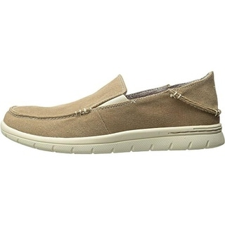 Dockers Mens Ravello Canvas Slip On Casual Shoes
