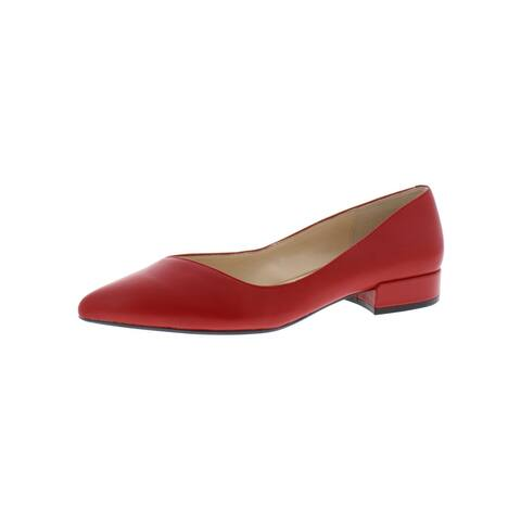 Kenneth Cole New York Womens Camelia Flats Leather Solid