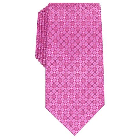 Perry Ellis Men's Kimball Micro-Dot Tie Purple Size Regular