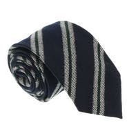 Missoni U5145 Grey/Navy Regimental 100% Silk Tie - 60-3
