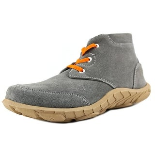 Umi Jaime Youth Round Toe Suede Gray Bootie