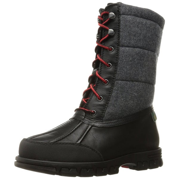 LAUREN by Ralph Lauren Womens Quinlyn-Bo-Cwt Closed Toe Mid-Calf Cold Weather...