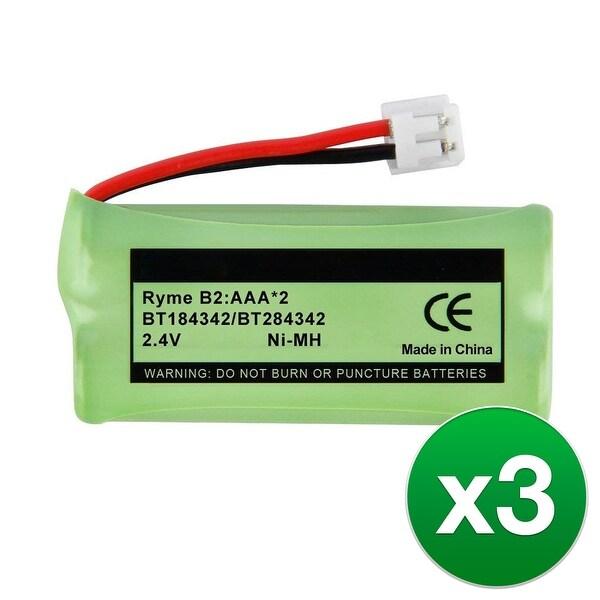 Replacement VTech CS6719 / SN6187 NiMH Cordless Phone Battery - 700mAh / 2.4v (3 Pack)