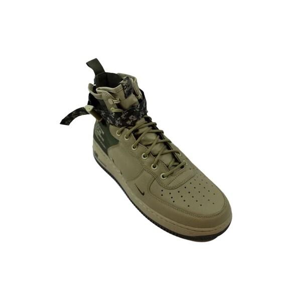 Shop Nike SF Air Force 1 Mid Neutral OliveCargo Khaki