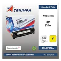 Triumph Remanufactured 131A Toner Cartridge - Yellow Toner Cartridge