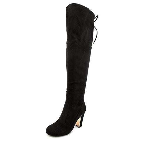 Priyanka Back Lace Over The Knee Boots