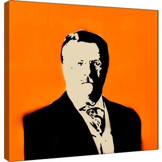 """PTM Images 9-100002  PTM Canvas Collection 12"""" x 12"""" - """"Teddy"""" Giclee Men Art Print on Canvas"""