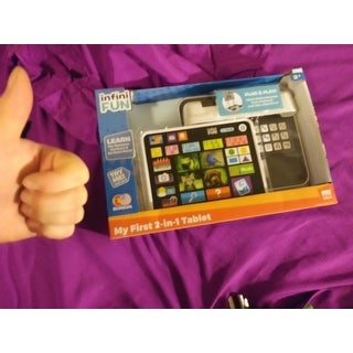 Kidz Delight Tech Too My First 2 n 1 Tablet