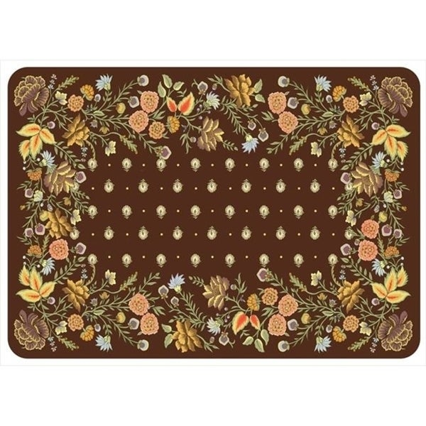 20491702231 Palazzo Mat in Chocolate - 1.83 ft. x 2.58 ft.