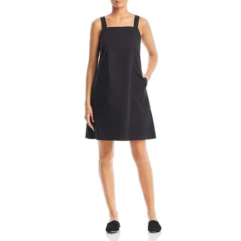 Eileen Fisher Womens Tank Dress Organic Cotton Sleeveless