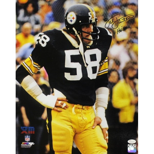 3538b35de6f Shop Jack Lambert Autographed Pittsburgh Steelers 16x20 Photo HOF JSA -  Free Shipping Today - Overstock - 22390132