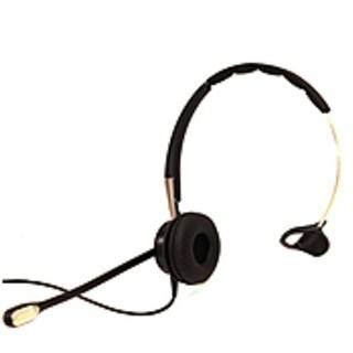 Jabra BIZ 2400 II Headset - Mono - USB - Wired - Gold Plated - Over-the-head - Monaural - Supra-aura-REFURBISHED