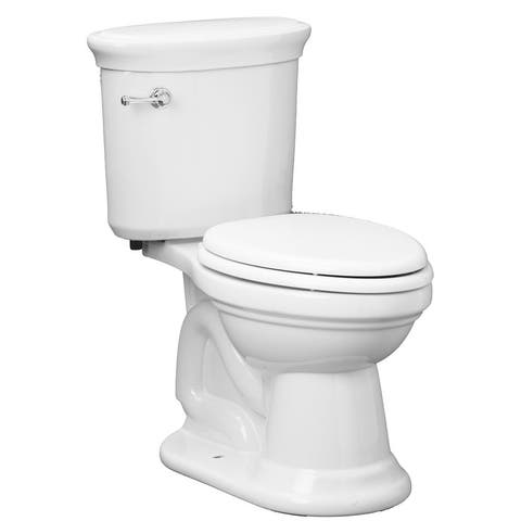 """Mirabelle MIRBR200A Boca Raton 1.28 GPF Toilet Tank Only with 12"""" Rough In - Left Hand Trip Lever"""