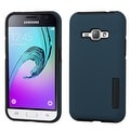 Insten Dual Layer Hybrid Rubberized Hard PC/ Silicone Case Cover For Samsung Galaxy Amp 2/ J1 2016 Version - Thumbnail 0