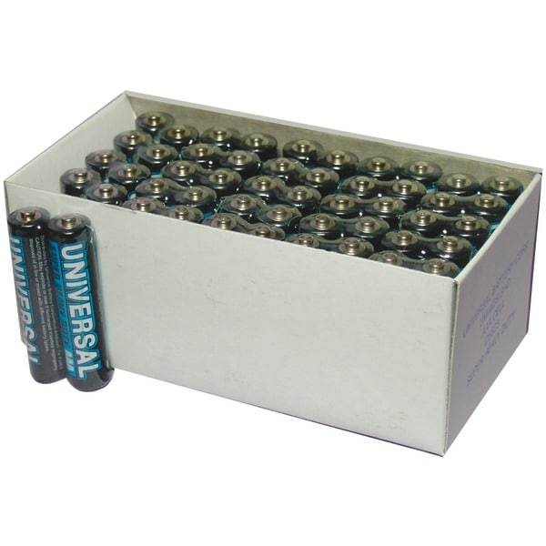 Upg D5323/D5923 Super Heavy-Duty Battery Value Box (Aaa; 50 Pk)