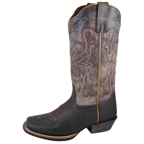 Smoky Mountain Western Boots Womens Fusion #1 Brown Blue