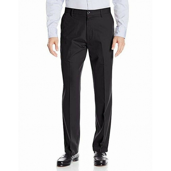 Dockers Mens Dress Pants Black Size 40x29 Classic Fit Khakis Stretch. Opens flyout.