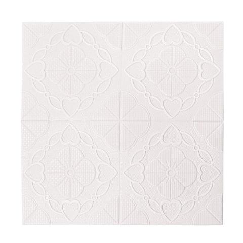 """3D Wall Panel 27""""x27"""" Foam Self-stick Wall Decoration Wall Tiles 5 Sq Ft"""