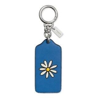 Coach Womens Fashion Keychain Flower Charm - o/s