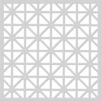 """Hero Arts Stencil 6.25""""X5.25""""-Graphic Snowflake"""