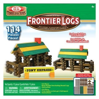 Frontier Logs 114 Pieces