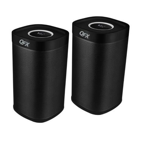 Dual Stereo Bluetooth Speakers Black