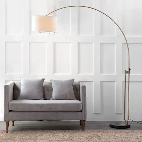 "SAFAVIEH Lighting 84-inch Polaris LED Arc Floor Lamp - 69.5""x16""x84"""