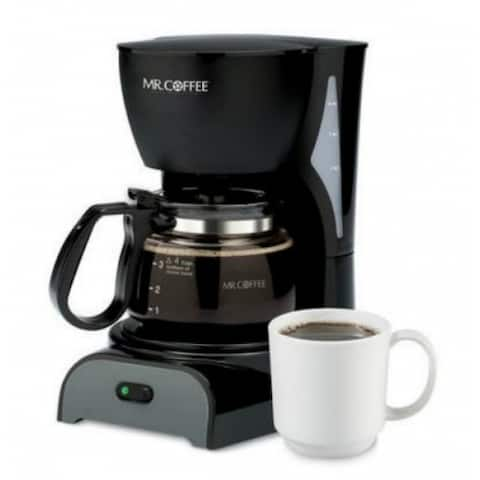 Mr. Coffee DR5-NP Simple Brew 4-Cup Switch Coffee Maker, Black