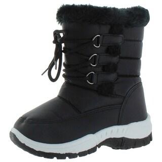 Moda Essentials Jet Toddler Girl's Waterproof Snow Boots