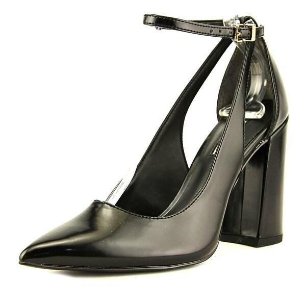 52a9e4b2805 Shop Guess Braya Women Pointed Toe Patent Leather Black Heels - Free ...