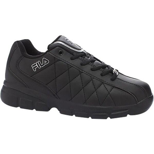 8741a21ebc9b0 Fila Men's Fulcrum 3 Black/Black/Metallic Silver