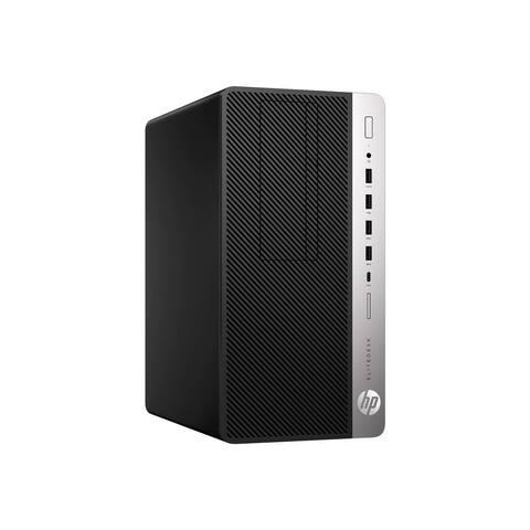 HP EliteDesk 705 G4 MicroTower 8GB 500GB AMD Ryzen 3 PRO 2200G Win10,Black(Certified Refurbished)