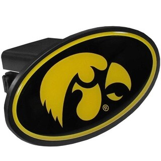 "Iowa Hawkeyes Trailer Hitch Cover Class III 2"" Receiver"