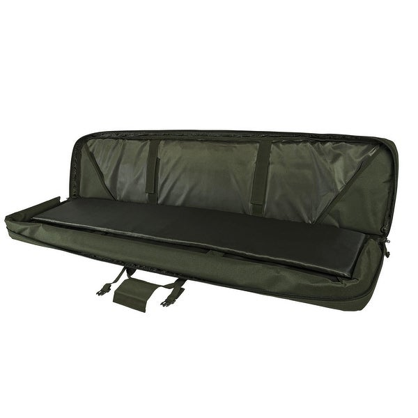 """VISM® by NcSTAR® DELUXE DOUBLE RIFLE CASE (55""""L X 13""""H) GREEN"""