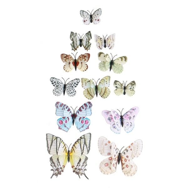 3D Butterfly Wall Sticker with Sticker Decal Fresco Stickers for Room Decoration