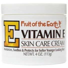 Fruit of the Earth Vitamin E Skin Care Cream 4 oz