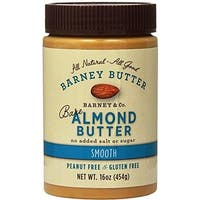 Barney Butter - Bare Smooth Almond Butter ( 6 - 16 oz jars)