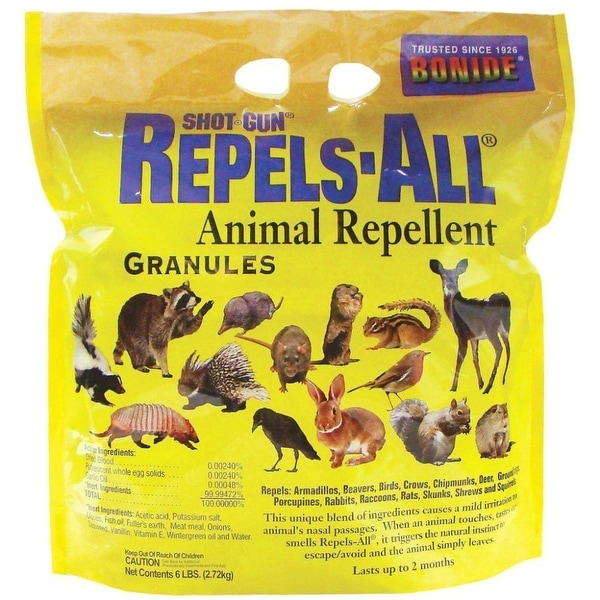 Bonide 2362 Repels-All Granules, 6 lbs