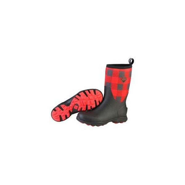 fe8903e5e25bc Shop Muck Boots Red Men's Arctic Excursion Mid Boot w/ Fleece Lining - Size  13 - Free Shipping Today - Overstock - 19829303
