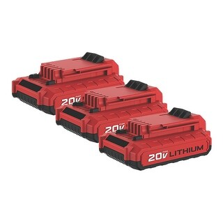 Battery for Porter Cable PCC682L (3-Pack) Replacement Battery