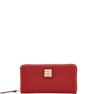 Dooney & Bourke Saffiano Large Zip Around Wallet (Introduced by Dooney & Bourke at $138 in )